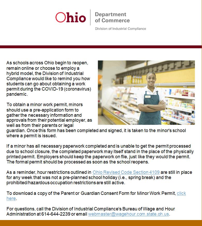Coronavirus Covid 19 Updates Ohio Grocer Association